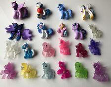 Job Lot Of 20 My Little Pony Mini Figures Including Glitter Figures