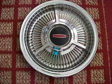 "1964 Olds Custom   One 14"" Three-Bar Spinner Hubcap"