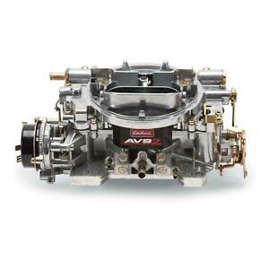 Edelbrock 650 CFM 4 Barrel Carburetor, Electric Choke Edelbrock 1906 AVS2