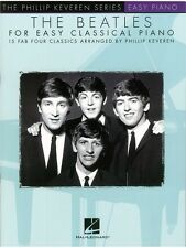 The Beatles For Easy Classical Piano Learn to Play Beginner Keyboard MUSIC BOOK
