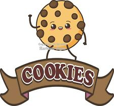 Cookies DECAL (Choose Your Size) Pastry Food Truck Concession Sticker