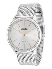 Russian Men's Quartz Wrist Watch SLAVA 1721979 Gift Русские часы СЛАВА Россия