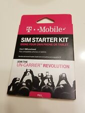 T-Mobile Welcome Sim Card Kit 3-in-1 Fits Compatibile Phones And Tablets