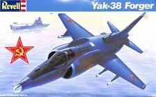 Revell 1:72 Yak-38 Forger Plastic Aircraft Model Kit #4072U