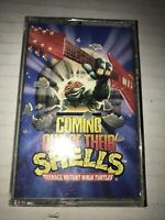TEENAGE MUTANT NINJA TURTLES COMING OUT OF THEIR SHELLS 1990 CASSETTE TAPE