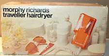 Morphy Richards Traveller Hair Dryer with box and instructions Model 4820 Gold