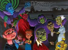 Famous Monsters Twilight Zone Poster