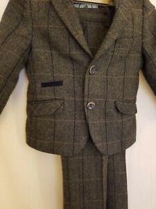 Creon Previs  Wool Boys Jacket & trousers Peaky Blinders Look Immaculate Size 3
