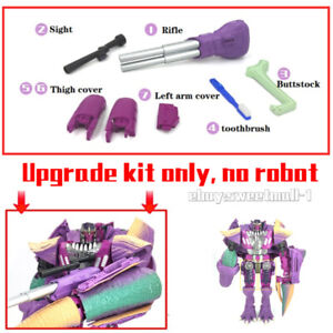NEW Upgrade Kit FOR Kingdom Megatron(Beast) Filling&Weapon&Toothbrush in stock