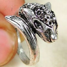 Designer Dragon  925 Silver Handmade Fashionable Ring Size 6 DD11-2083