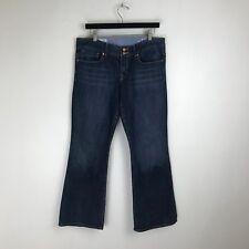 Gap Jeans - Perfect Boot Dark Distressed Wash - Tag Size: 12a (33x29.5) - #6089