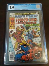 Marvel Team-Up #72 CGC  8.0 1978 Spider-Man Iron Man