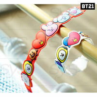BTS BT21 Official Authentic Goods Silicon Band 2SET By Kumhong Fancy + Tracking