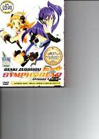 SENKI ZESSHOU SYMPHOGEAR Vol.1-12 End Anime DVD