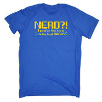 Funny Novelty T-Shirt Mens tee TShirt - Nerd I Prefer Intellectual Badass