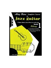 Mickey Baker's Complete Course in Jazz Guitar Play Instrumental Album MUSIC BOOK