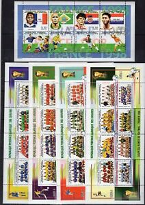 Comores Football World Cup  Sport  on stamps  perf.  MNH** AK