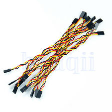 10pcs 3pin 20cm 2.54mm Female to Female jumper wire Dupont cable for Arduino TW