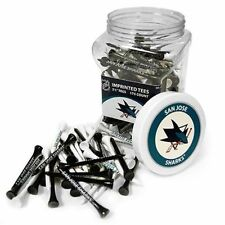 NHL San Jose Sharks Golf Tee Jar 175 Count Club Course Driver Box Accessory