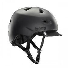 Bern Brentwood Summer Cycling Helmet (Matte Black / Large Size)