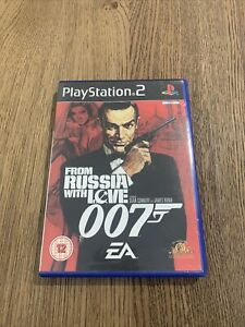 From Russia with Love - James Bond 007 (Sony PlayStation 2 PS2 2007) PAL