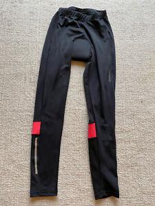 *MUDDYFOX* women's stretch cycling leggings with padded bottom, size 12, black