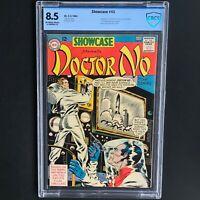 SHOWCASE #43 (DC 1963) 💥 CBCS 8.5 OWW 💥 Adaptation of Doctor No w/ James Bond!