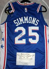 NBA - BEN SIMMONS SIGNED PHILADELPHIA 76ERS JERSEY