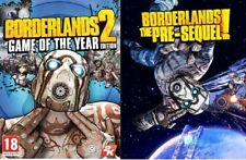 Borderlands 2 + Borderlands The Pre-sequel Game of the Year Edition PC Steam Key