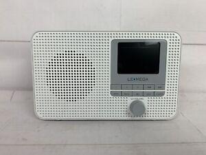 LEMEGA IR1 Portable Internet Radio,FM Digital Radio,WiFi,Bluetooth,Dual Alarms&C
