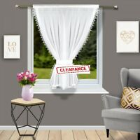 **Ready Made Premium Voile Net Curtains  - Laces Effect Living Room Many Sizes**