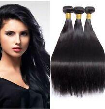 10a Unprocessed Peruvian Virgin Human Hair Extensions 300gWeave bundle straight