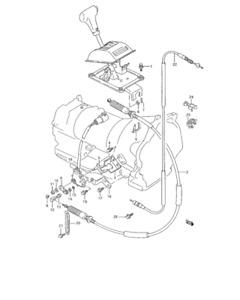 KICK DOWN CABLE rebuild kit for Suzuki Sidekick Vitara GEO TRACKER 16 Valve Eng