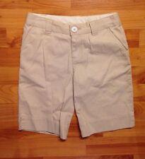 J. Khaki Girls Sz. 8 Khaki  Straight Front Chino Shorts School / Uniform