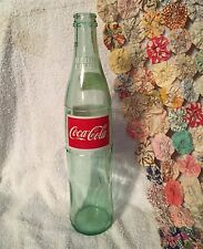 Vintage Coca Cola Medio Litro Green Glass Bottle 500 ML REfresco