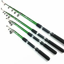 Telescopic Fishing Rods Carp Feeder Fish Lures Tackle Ocean Stream Spinning Rod