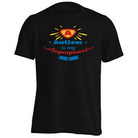 Autism Is My Superpower Men's T-Shirt/Tank Top j292m