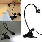Flexible USB LED Light Clip-on Clip Bed Table Desk Study Reading Lamp Lights