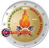 2 Euro Commémorative Italie 2020 en Couleur Type A - Sapeurs Pompiers