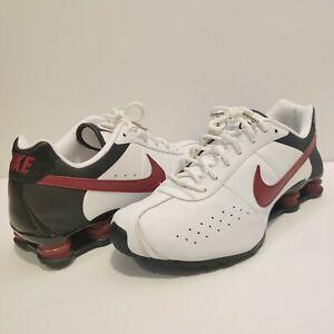 Nike Shox Classic II Size 11 NICE! White Red Black 343900-162