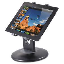 "Kantek Stand for 7"" to 10"" Tablets Swivel Base Plastic Black TS710"