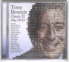 Tony Bennett – Duets II PLUS DVD 886919623093 EU CD + DVD Album SEALED
