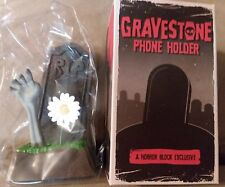 New GraveStone Phone Holder *A Discontinued Horror Block Exclusive! Pop Horror!