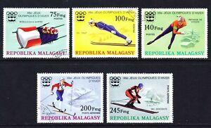 Malagasy / Madagascar Scott 538-40 / C149-50 complete set  F to VF CTO.