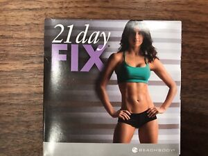 Beachbody 21 Day Fix DVD 2-Disc Set Autumn Calabrese - 8 Workouts
