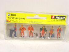 Stadtreinigungs Arbeiter - Kommunal  - Noch HO Figuren 1:87 Set - 15029  #E