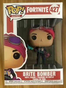 POP Video Game Fortnite Toys -  Brite Bomber #427 PVC Action Figure With Box