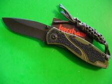 """NTSA KERSHAW USA """"BLUR"""" 4 1/2"""" CLOSED LINER LOCK POCKET KNIFE #1670OLBLK"""