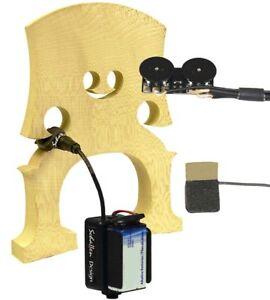 Schatten RB-2 Rockabilly/Slap Upright Bass Dual Sensor Pickup w/Jack 2 Volume