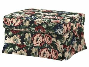 Ikea cover set for Ektorp Footstool in Lingbo Multicolour  304.033.21.